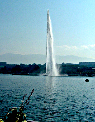 The water feature