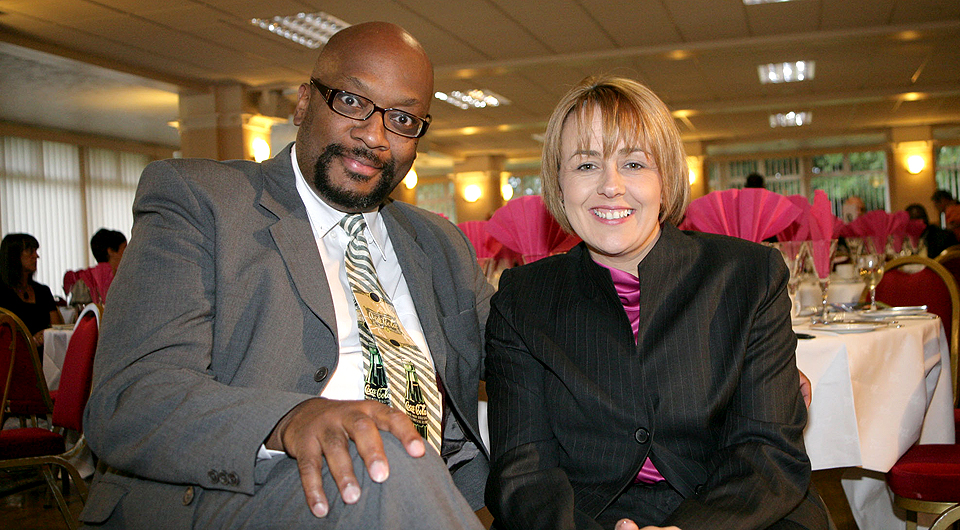 Tanni Grey-Thompson & Mike Shaft