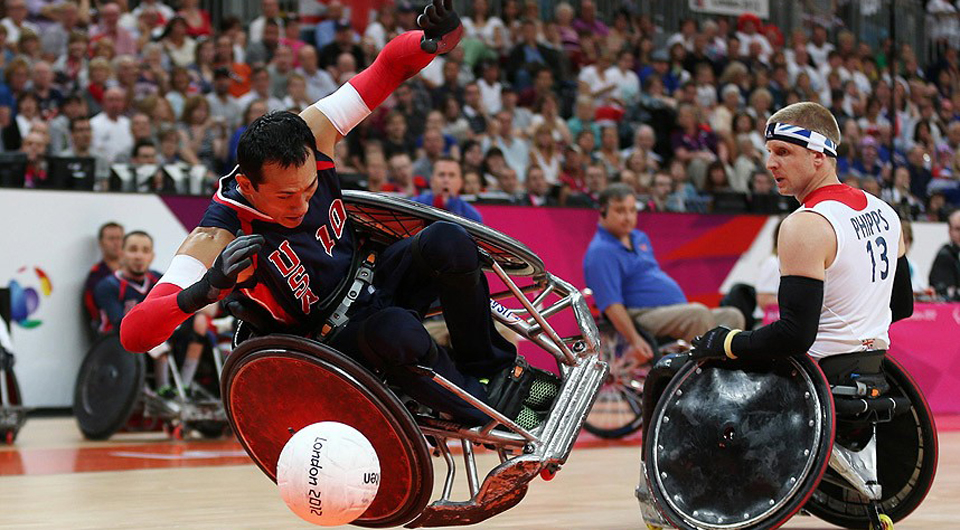 PARALYMPICS Wheelchair Rugby