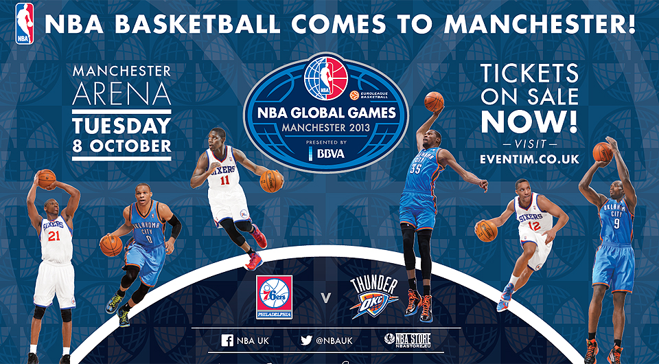 NBA Basketball Comes To Manchester