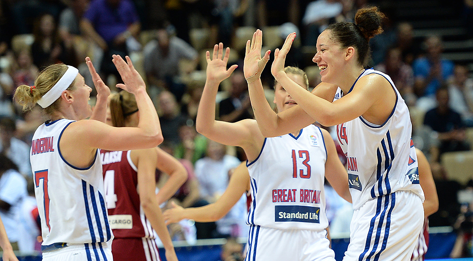 Victory Over Latvia Ensures Second Round Place For GB