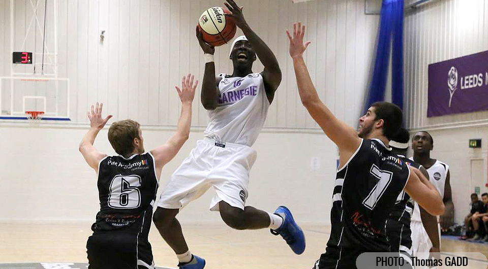 Armand Anebo in action