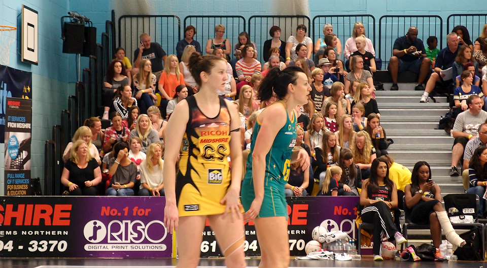 TIMELINE – Mike SHAFT With The Australian Netball Team