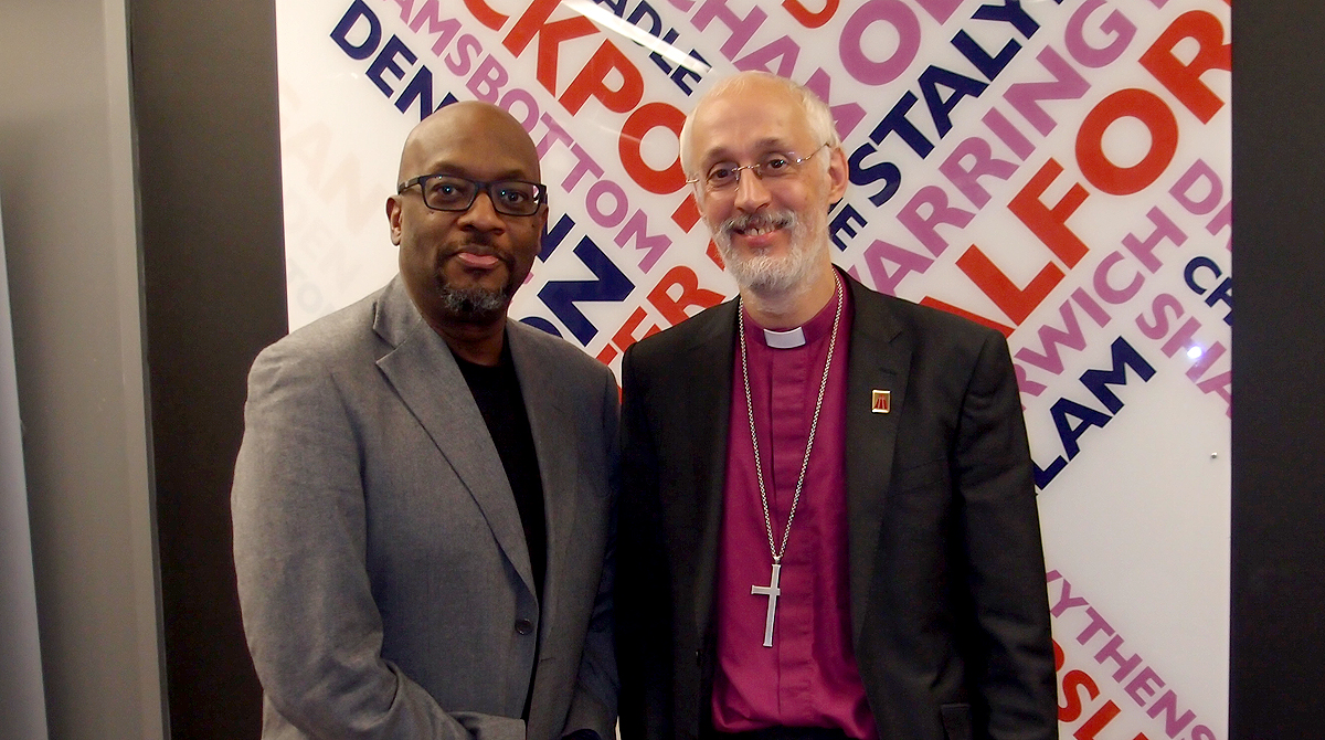 Mike Shaft & The Bishop of Manchester