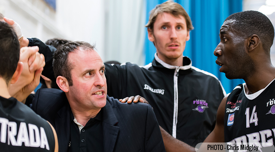 Leeds Force Head Coach Matt Newby.  Photo by Chris Midgley.  Library photo.