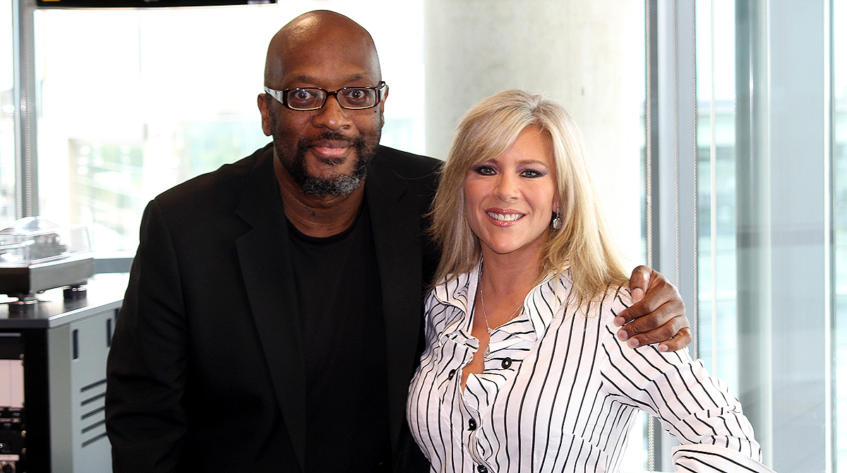Mike Shaft with Samantha Fox