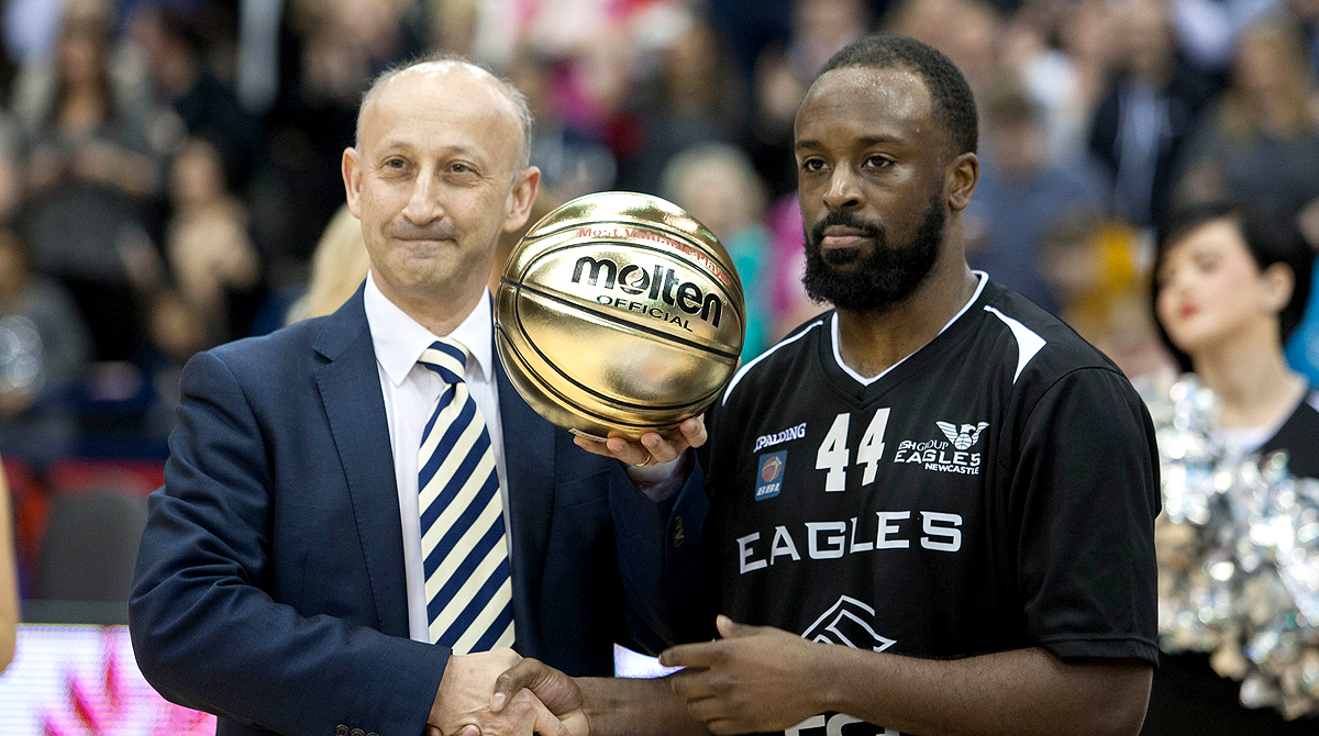 2015 BBL Cup Final MVP Rahmon Fletcher. Photo by Dave Moore.