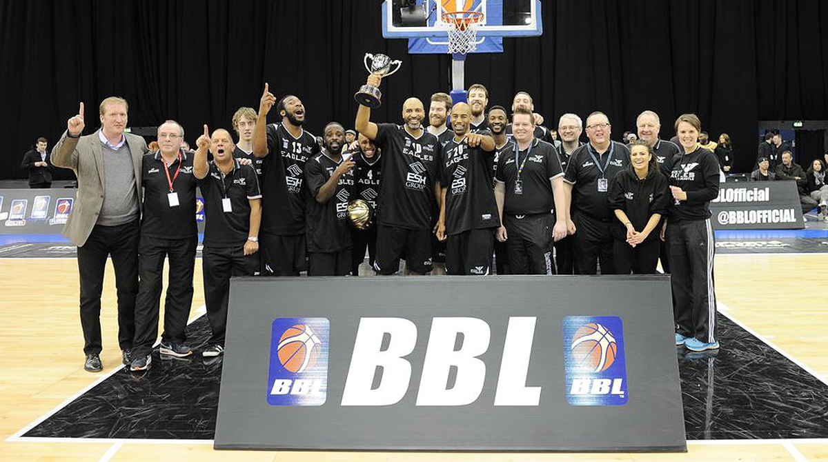 Newcastle Eagles, 2015 BBL Cup Winners.