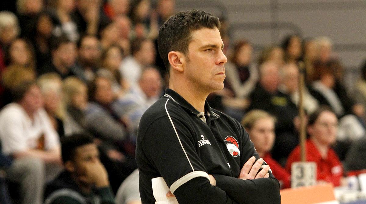 Riders' Head Coach Rob Paternostro, Library photo