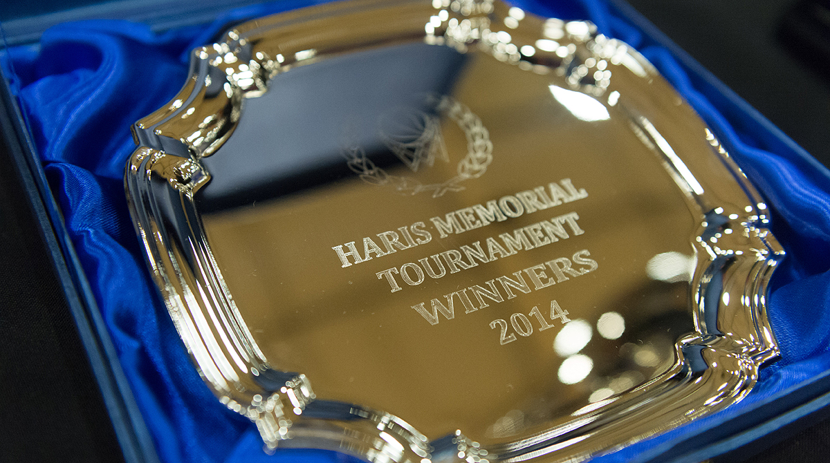 Winners plate