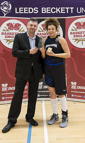 Kyla Nelson MVP, Photo by Chris Midgley.
