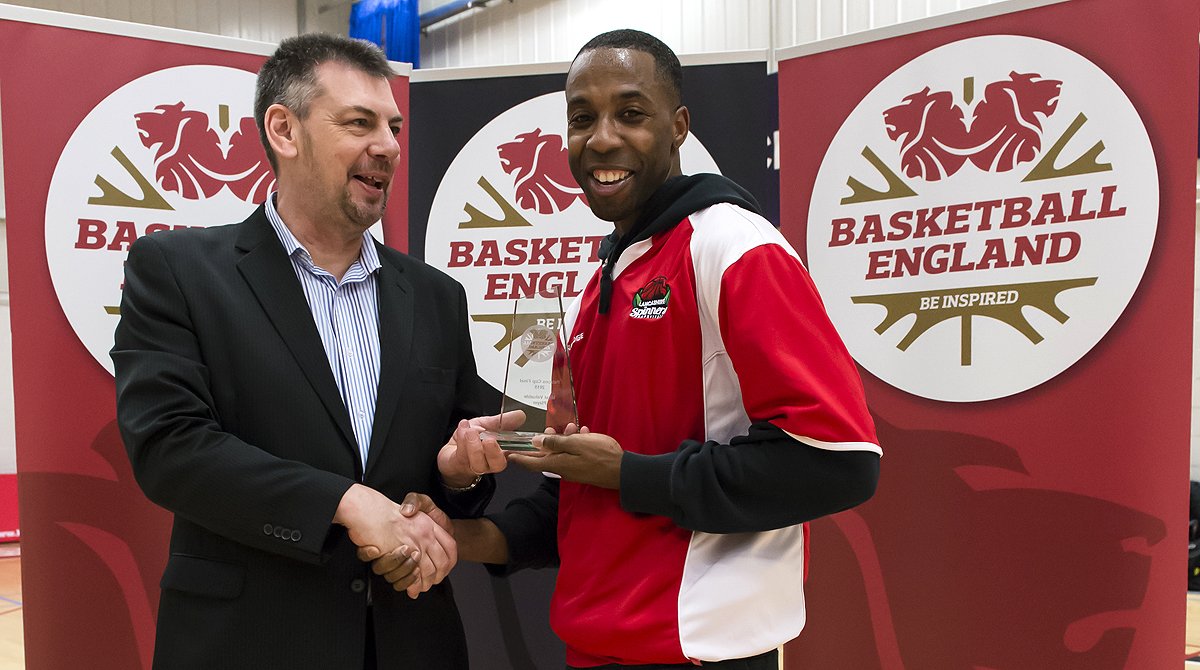 Steven Gayle - MVP,  Photo by Chris Midgley.
