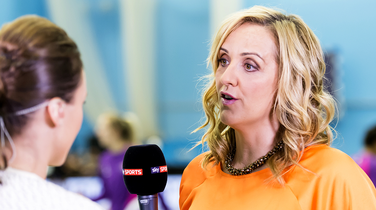 New England Head Coach Tracey Neville,    Photo by Chris Midgley.